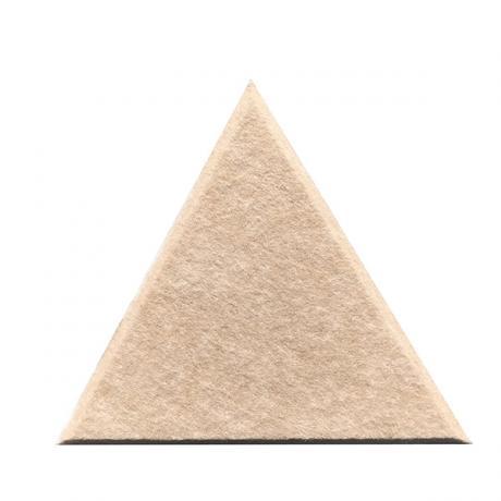 Настенные панели из ЭКО-войлока MyMatto - Треугольник лён