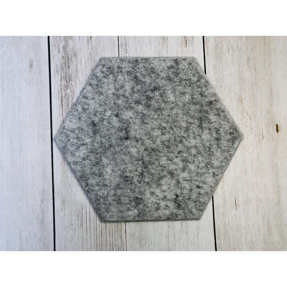 Шумопоглащающие панели для стен MyMatto - Сота серый мраморный