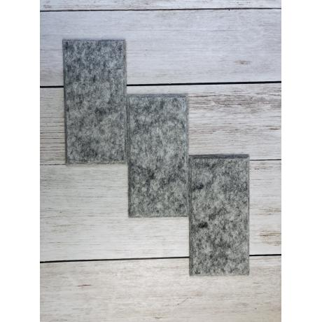 Шумопоглащающие панели для стен MyMatto - Кирпич серый мраморный