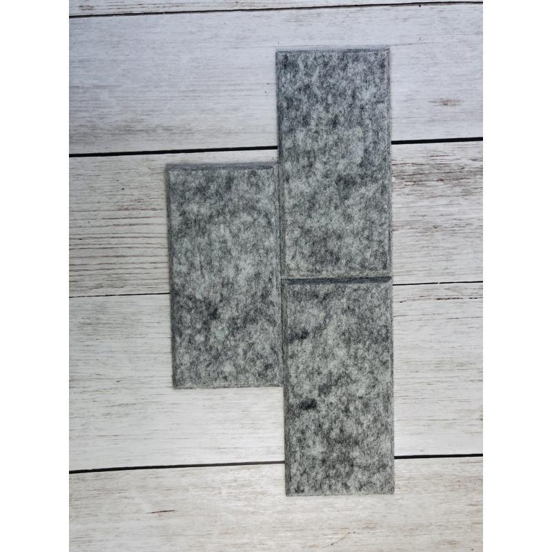 Шумопоглащающие панели для стен MyMatto - Кирпич серый мраморный фото