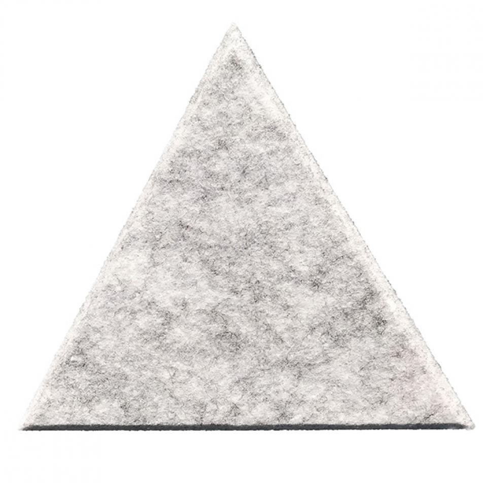 Шумопоглащающие панели для стен MyMatto - Треугольник серый мраморный