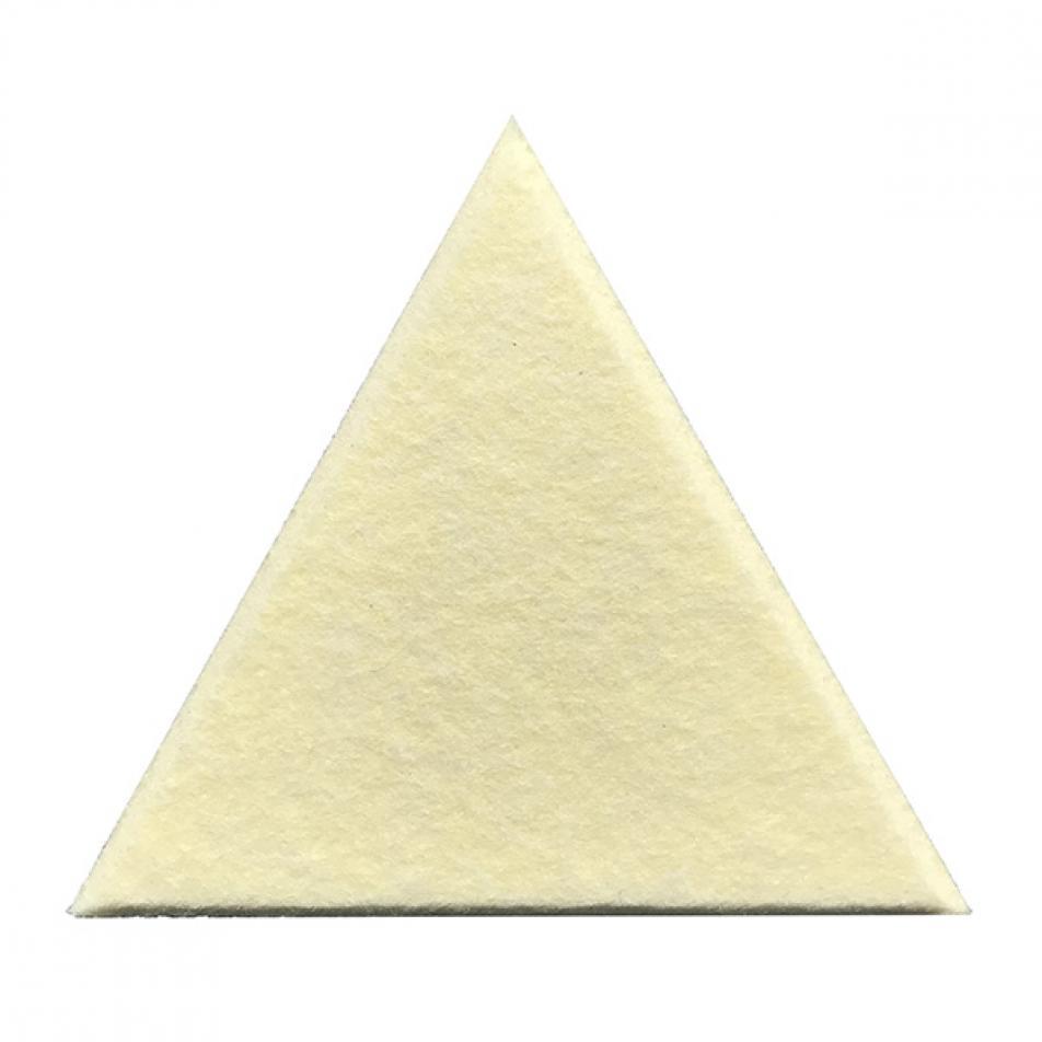 Теплые настенные панели из ЭКО-войлока MyMatto - Треугольник шампань