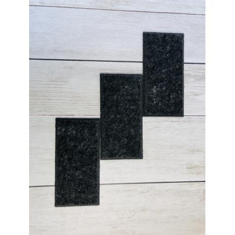 Теплые настенные панели из ЭКО-войлока MyMatto  - Кирпич мокрый асфальт