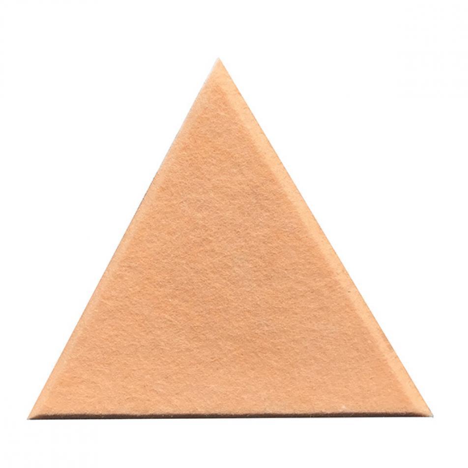 Декоративные настенные панели из ЭКО-войлока MyMatto - Треугольник пудровый