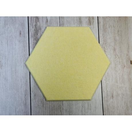 Декоративные настенные панели из ЭКО-войлока MyMatto - Сота желтый