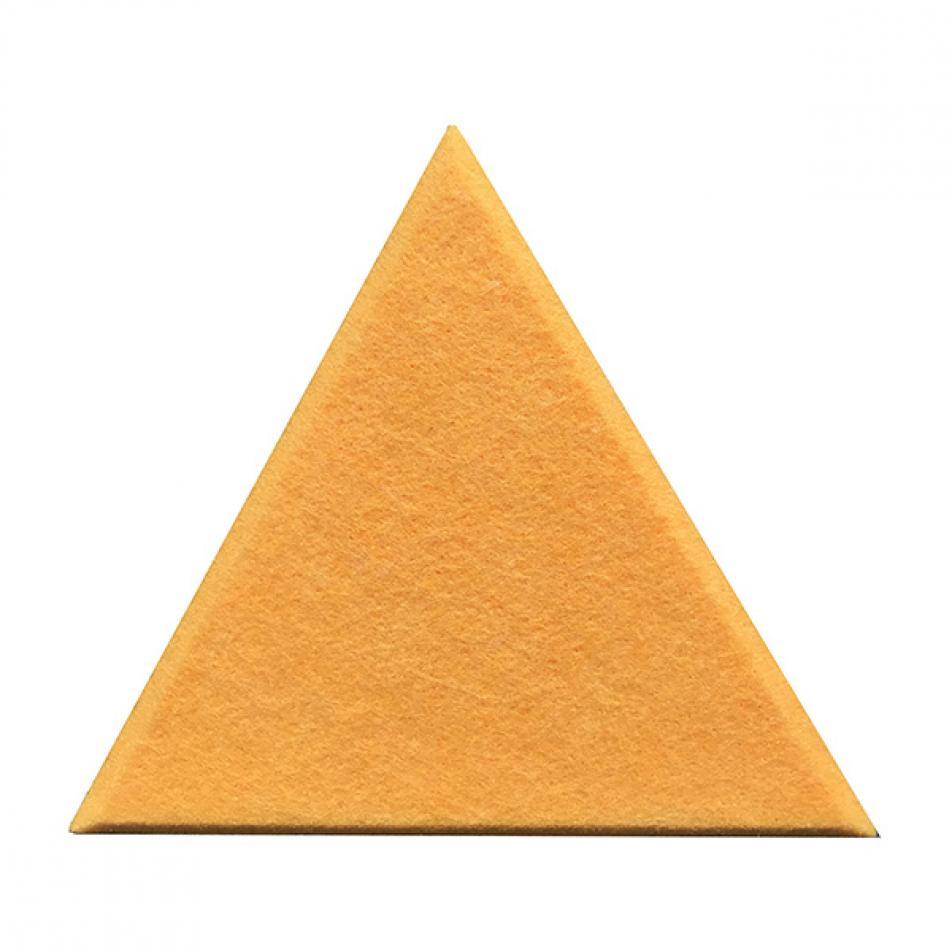 Декоративные настенные панели из ЭКО-войлока MyMatto - Треугольник желтый