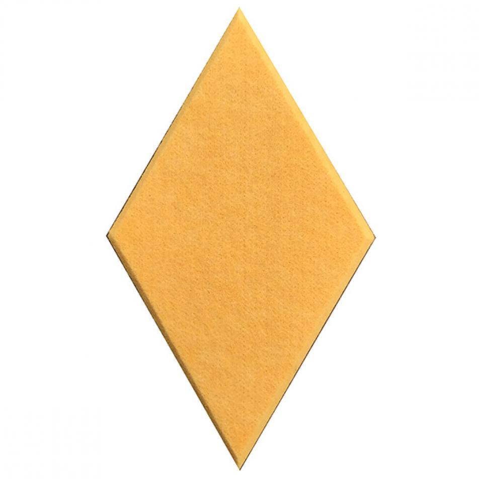 Декоративные настенные панели из ЭКО-войлока MyMatto - Ромб желтый