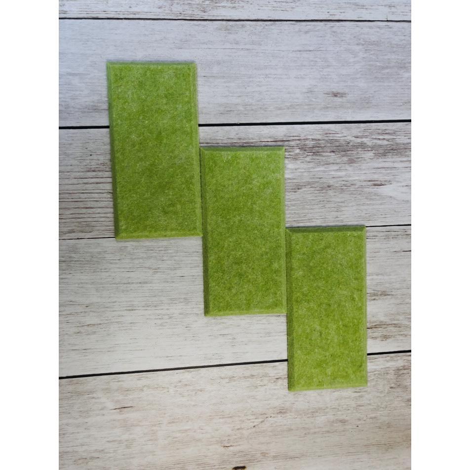 Мягкие настенные панели для детской комнаты MyMatto - Кирпич салатовый