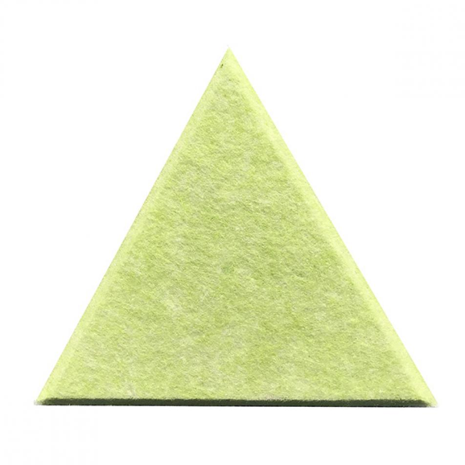 Мягкие настенные панели для детской комнаты MyMatto - Треугольник салатовый