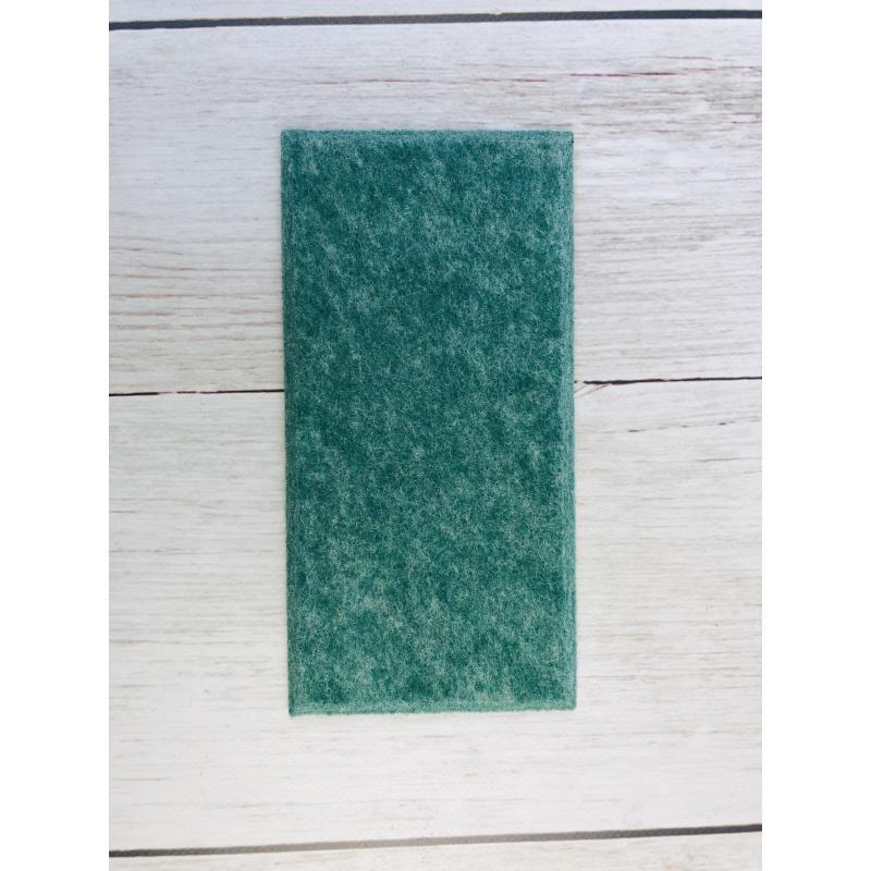 Мягкие настенные панели для детской комнаты MyMatto - Кирпич зеленый мраморный фото