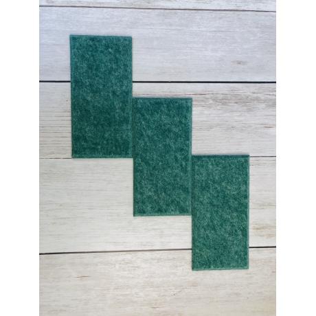 Мягкие настенные панели для детской комнаты MyMatto - Кирпич зеленый мраморный