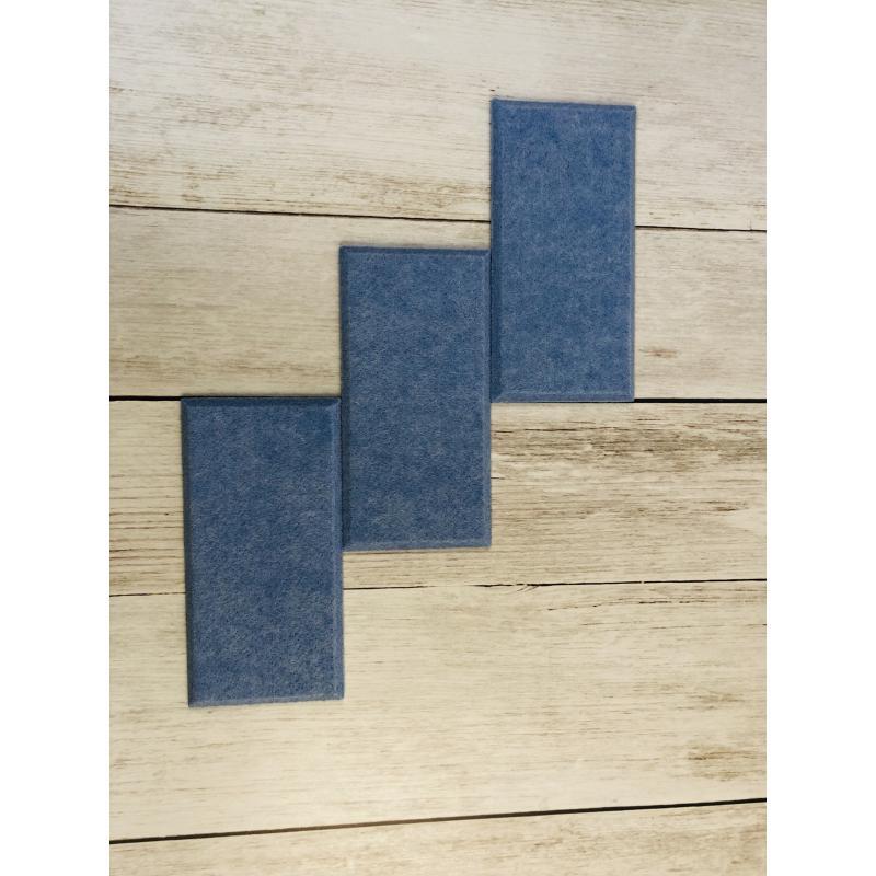 Шумопоглащающие панели для детской комнаты MyMatto - Кирпич голубой фото