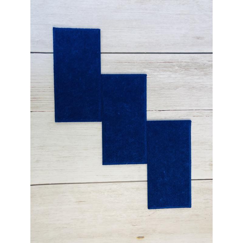 Шумопоглащающие панели для детской комнаты MyMatto - Кирпич синий фото