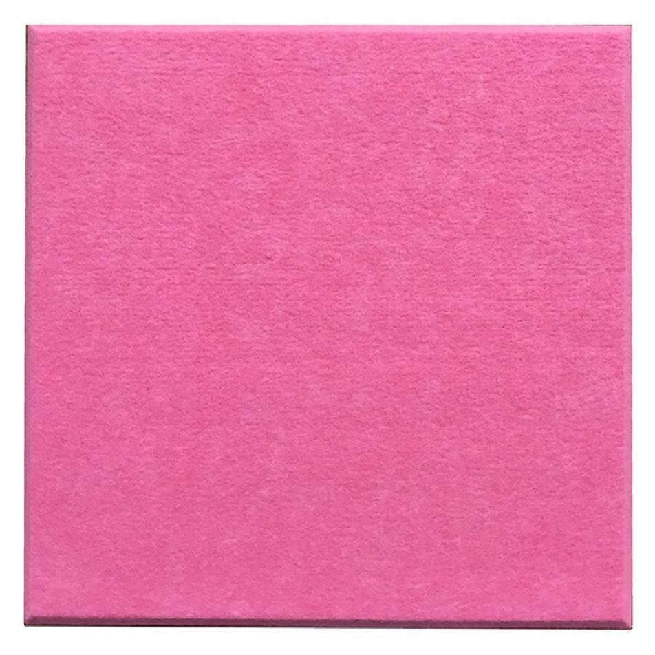 Утепляющие мягкие панели для детской комнаты MyMatto - Квадрат розовый