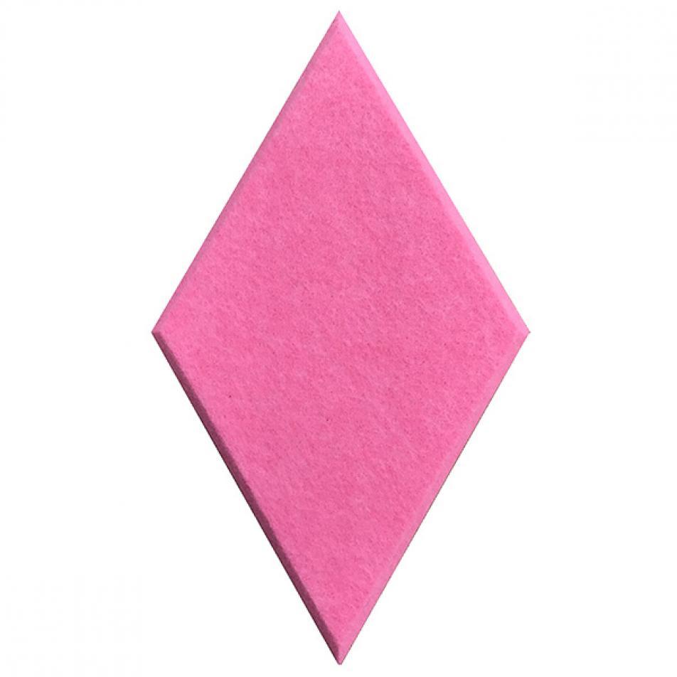 Утепляющие мягкие панели для детской комнаты MyMatto - Ромб розовый