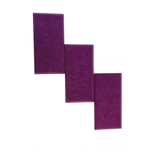Утепляющие мягкие панели для детской комнаты MyMatto  - Кирпич сиреневый