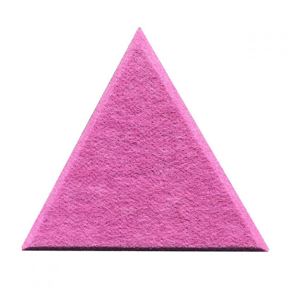 Утепляющие мягкие панели для детской комнаты MyMatto - Треугольник сиреневый