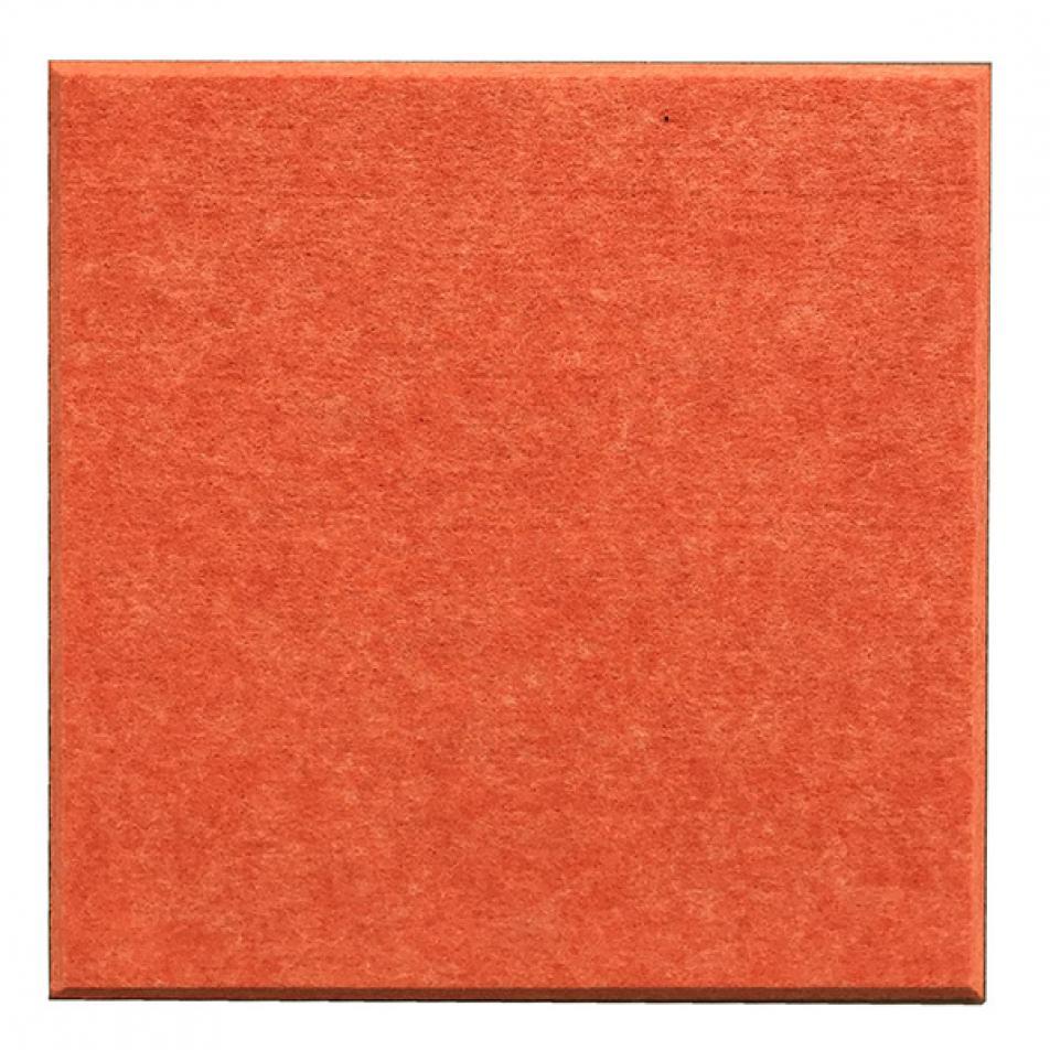 Гипоаллергенные панели из ЭКО-войлока на стену MyMatto - Квадрат оранжевый
