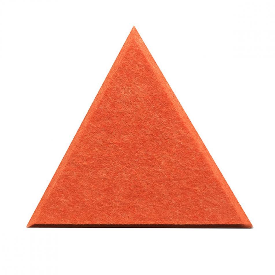 Гипоаллергенные панели из ЭКО-войлока на стену MyMatto - Треугольник оранжевый