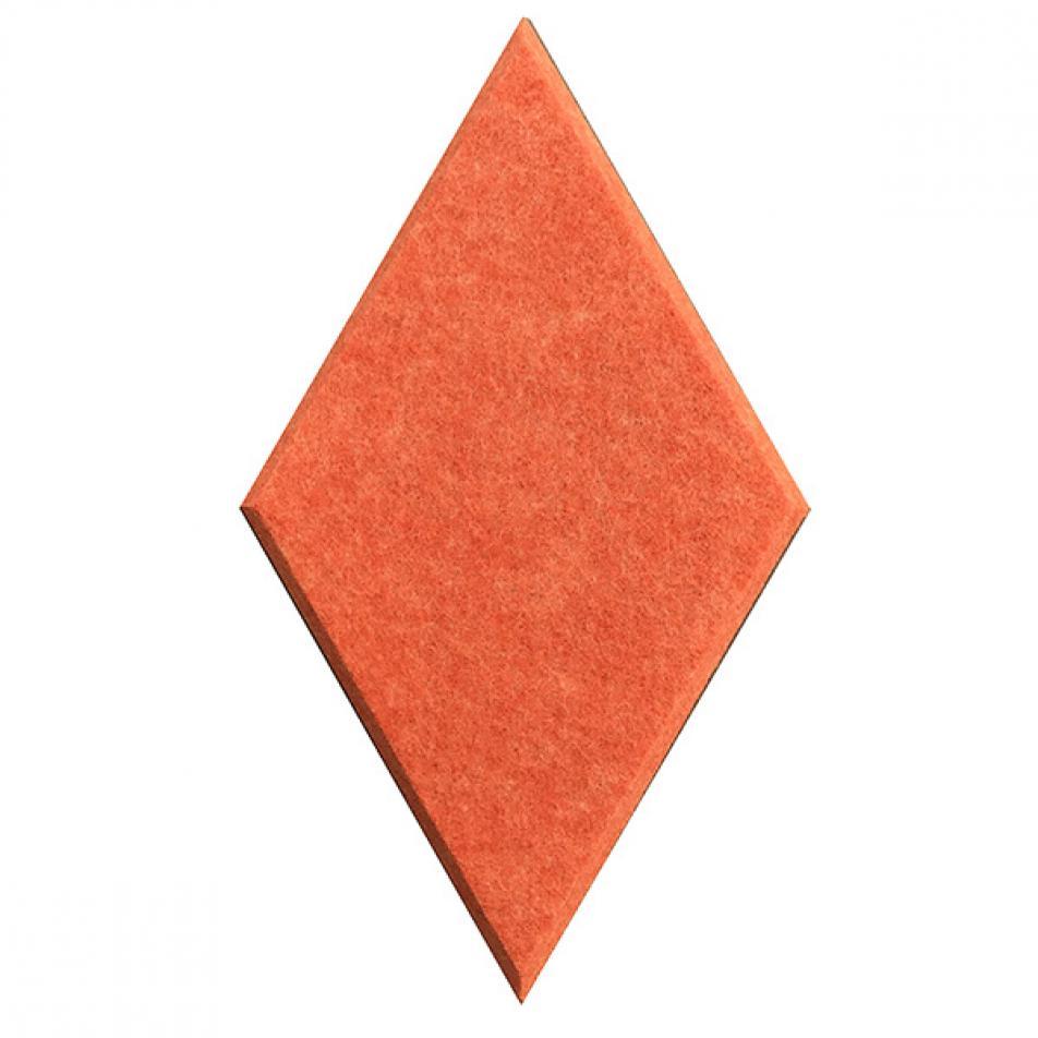 Гипоаллергенные панели из ЭКО-войлока на стену MyMatto - Ромб оранжевый