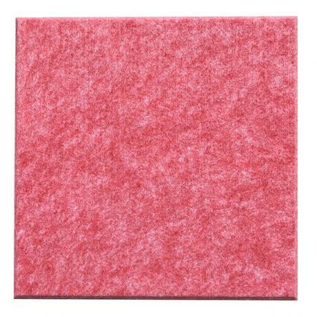 Гипоаллергенные панели из ЭКО-войлока на стену MyMatto - Квадрат красный мраморный