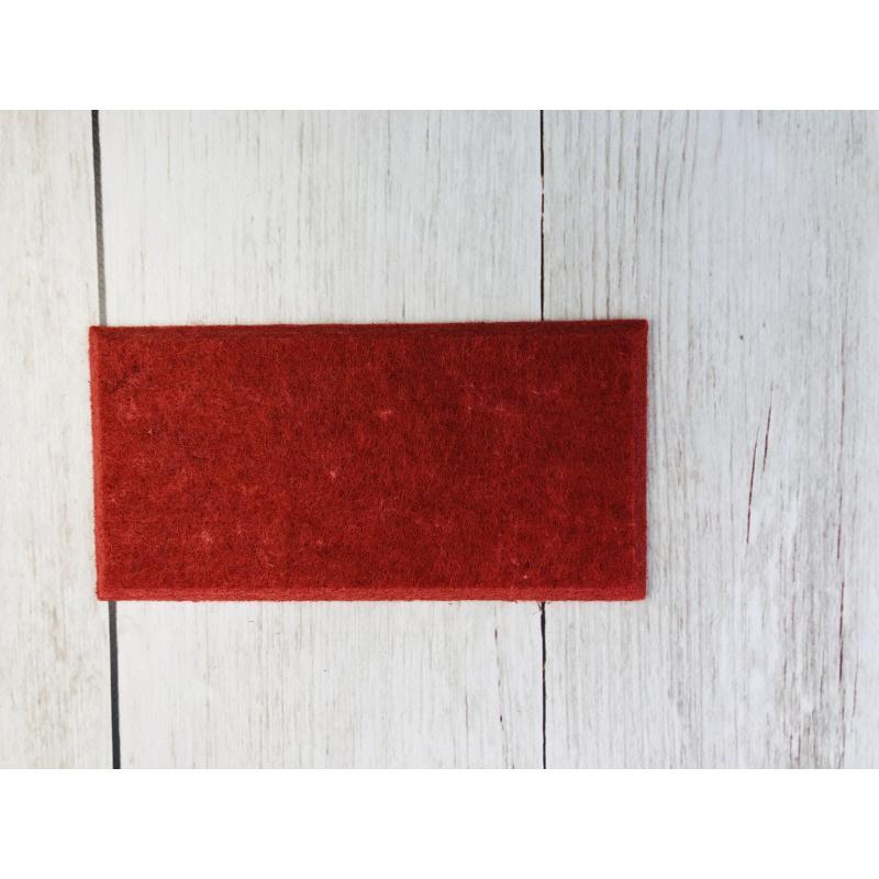 Панели для стен из ЭКО-войлока MyMatto - Кирпич красный фото