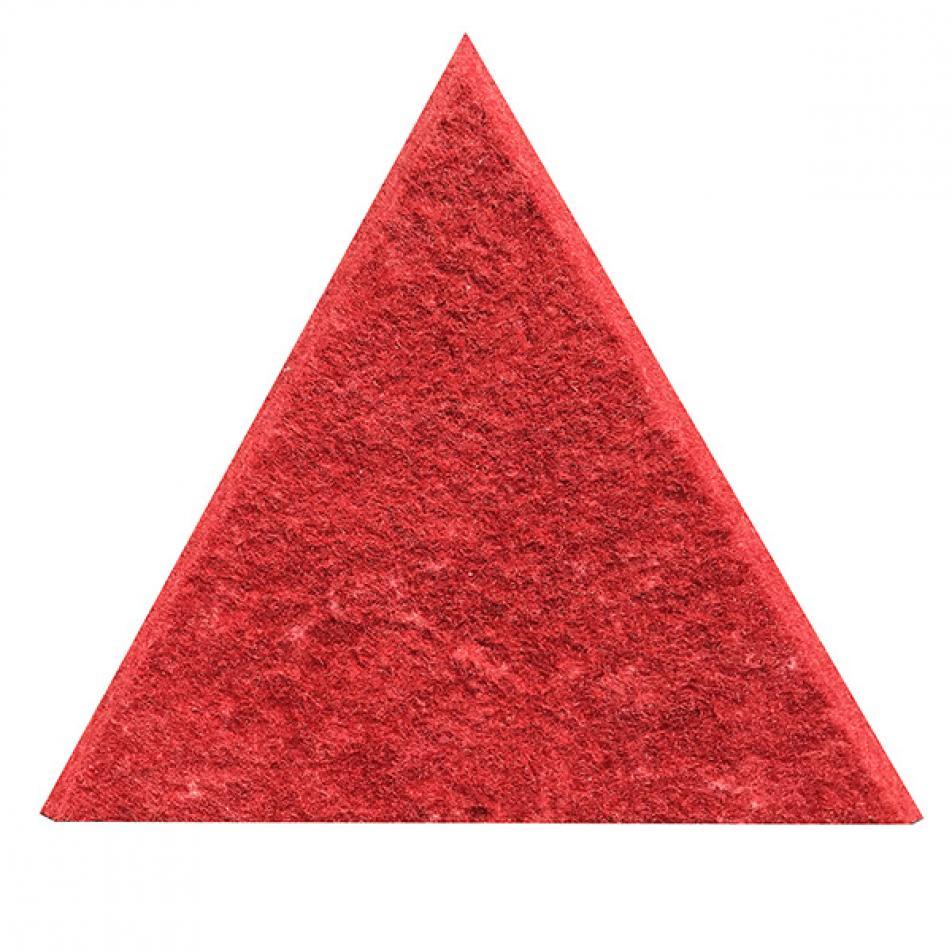 Панели для стен из ЭКО-войлока MyMatto - Треугольник красный