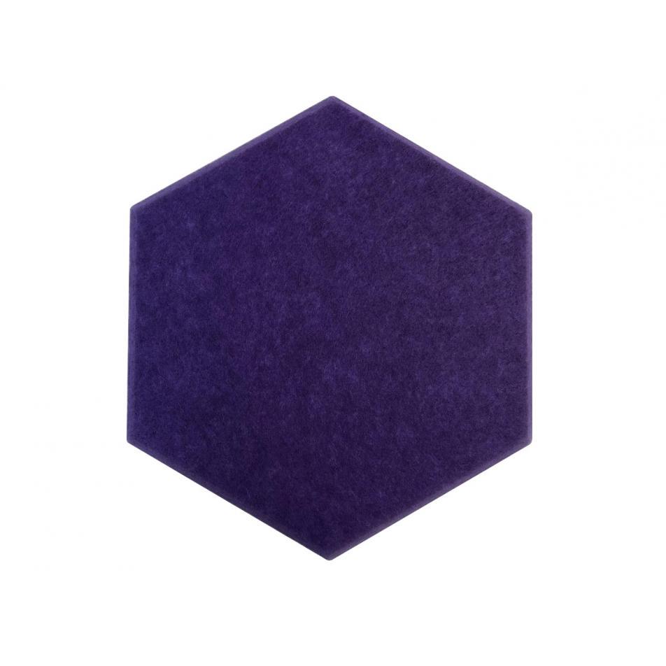 Мягкие панели для стен MyMatto - Сота фиолетовый