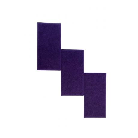 Мягкие панели для стен MyMatto - Кирпич фиолетовый
