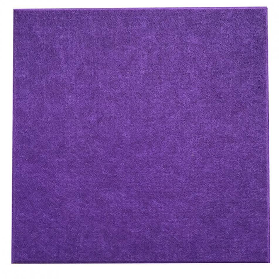 Мягкие панели для стен MyMatto - Квадрат фиолетовый