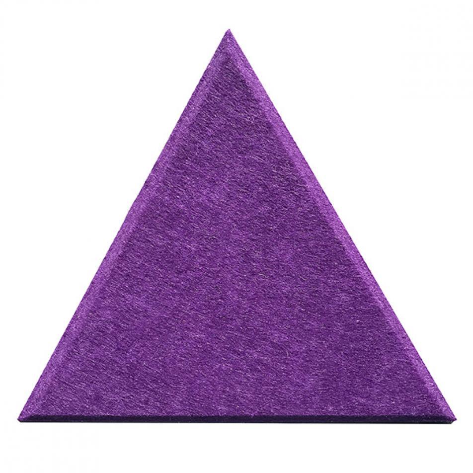 Мягкие панели для стен MyMatto - Треугольник фиолетовый