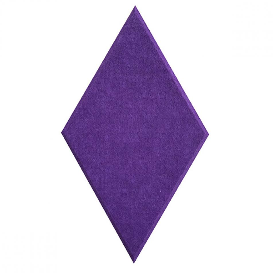 Мягкие панели для стен MyMatto - Ромб фиолетовый
