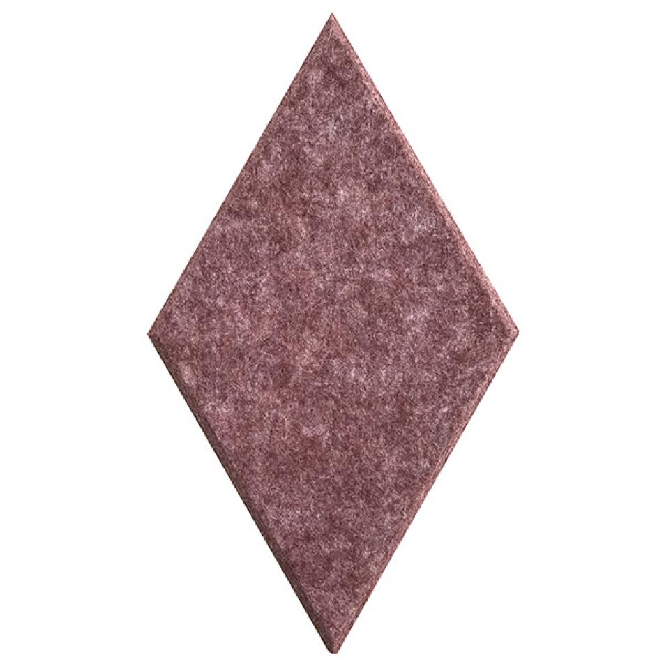 Мягкие панели для стен MyMatto - Ромб винный мраморный