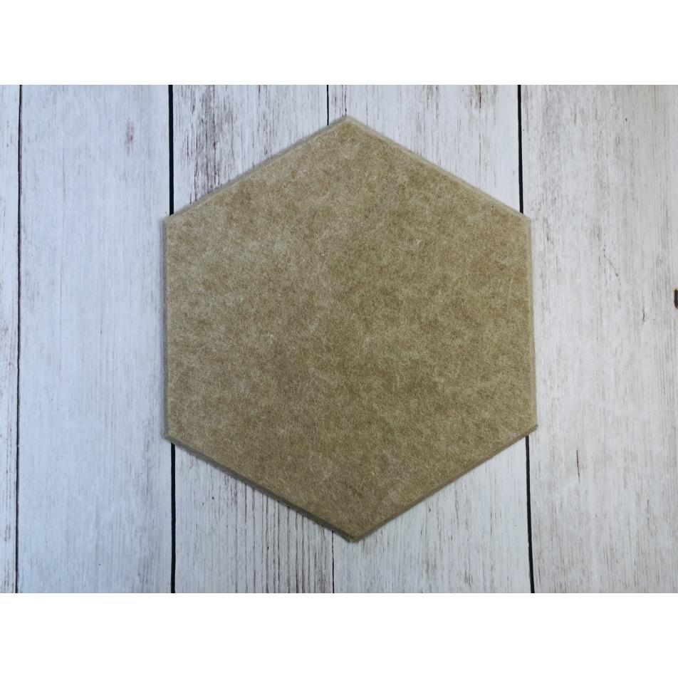 Мягкие Шумопоглащающие панели для стен MyMatto - Сота горчичный