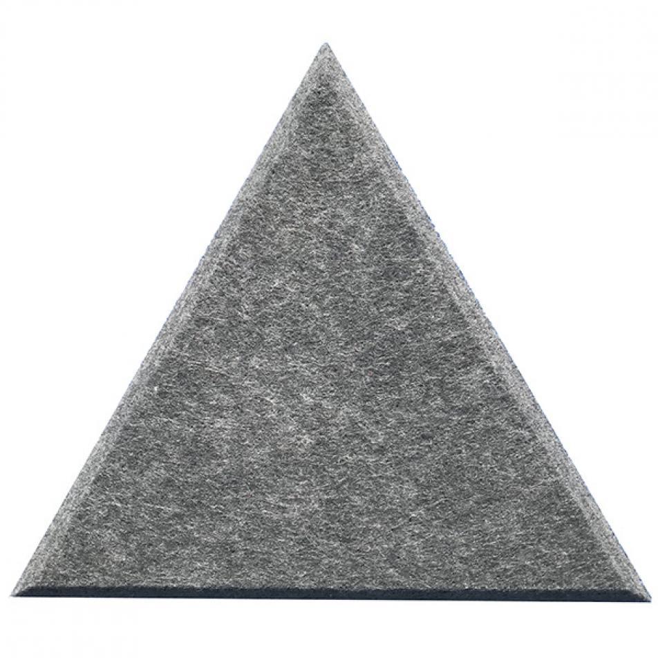 Мягкие Шумопоглащающие панели для стен MyMatto - Треугольник серый