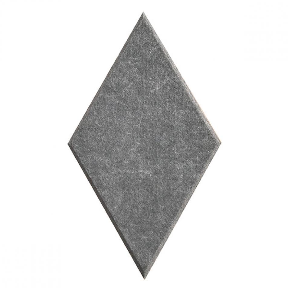 Мягкие Шумопоглащающие панели для стен MyMatto - Ромб серый