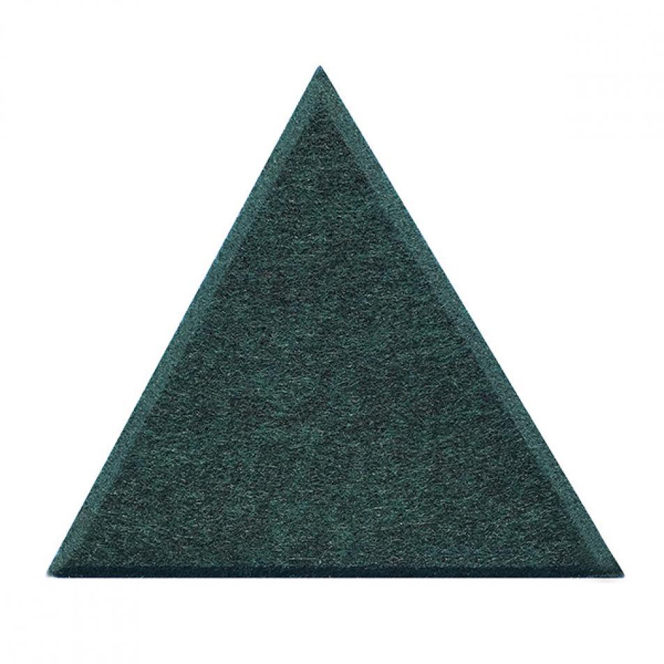 Мягкие, Гипоаллергенные панели на стену MyMatto - Треугольник зеленый