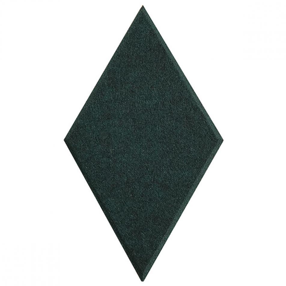 Мягкие, Гипоаллергенные панели на стену MyMatto - Ромб зеленый
