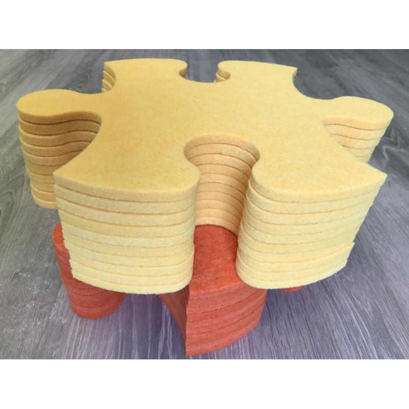 Смарт-коврик Mymatto Classic Оранжево-желтый фото