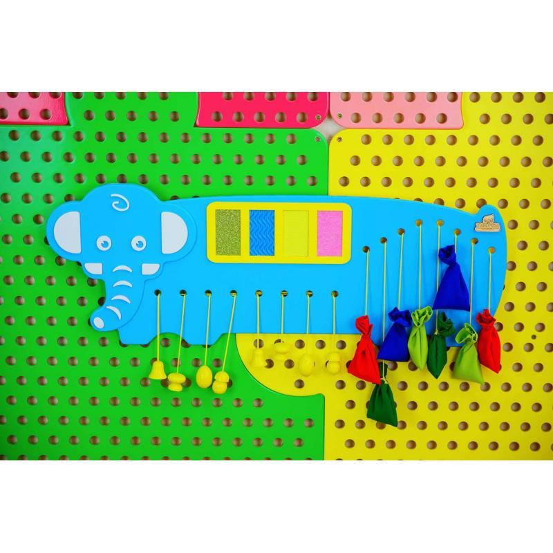 Бизиборд «Слоник» фото