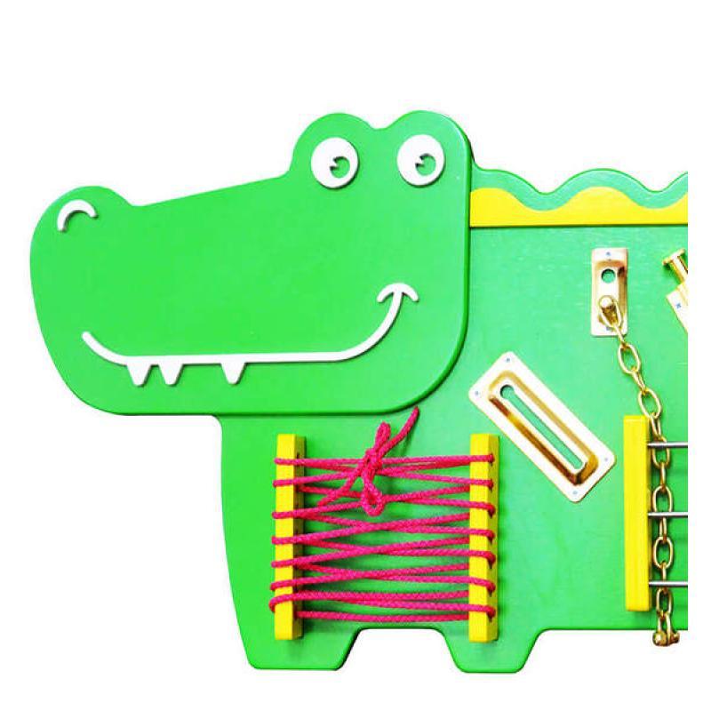 Бизиборд «Крокодильчик»  фото