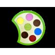Тактильно-развивающая панель «Гусеница Жужа» фотографии