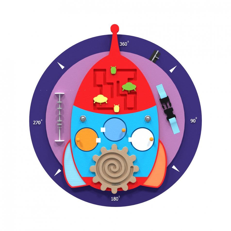 Бизиборд «Ракета»