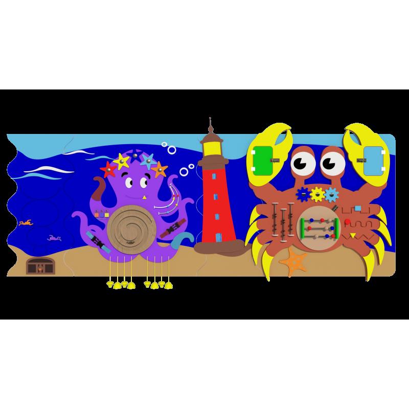 Набор мини 2 «Морские обитатели» фото