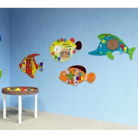Набор бизибордов «Подводный мир»
