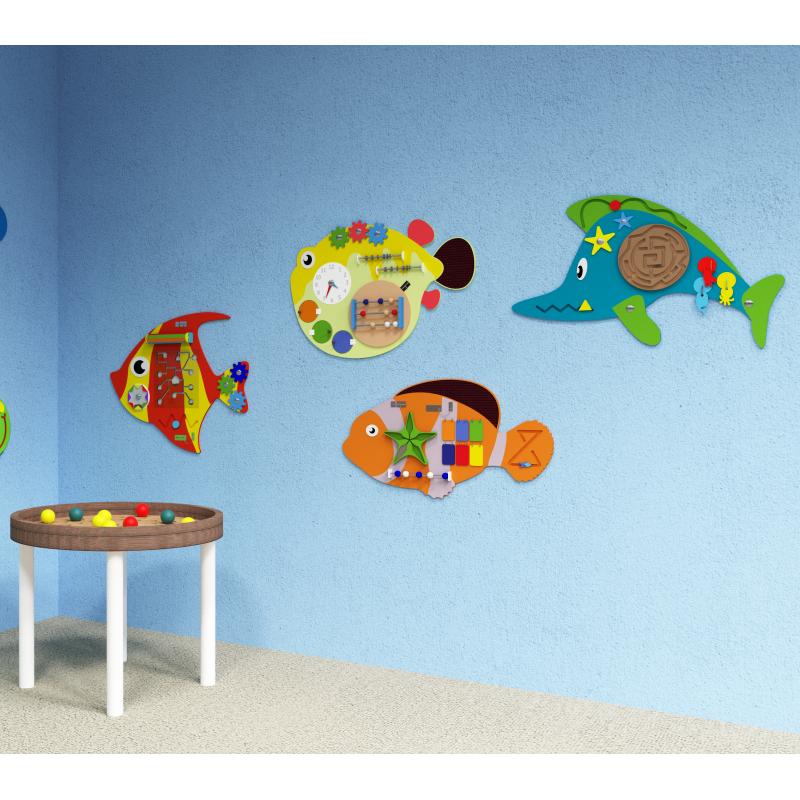 Набор бизибордов «Подводный мир»  фото