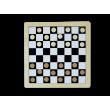 Настенная игра 2 в 1 Шашки + шахматы фотографии