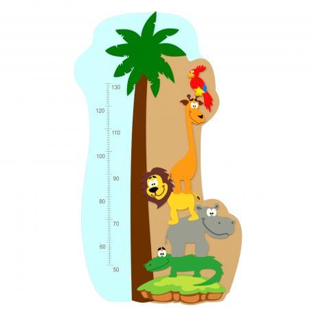 Детский ростомер «Животные»