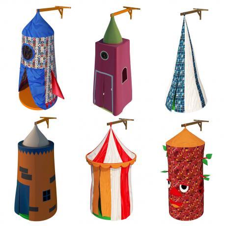 Комплект игровых шатров «Большое путешествие»
