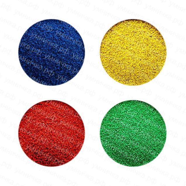 Цветной песок для детского творчества